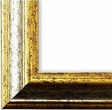 Bilderrahmen Silber Gold 60 x 80 cm 60x80 - Antik,