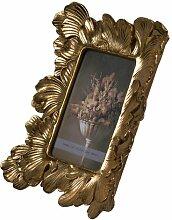 Bilderrahmen Sommerallee Farbe: Gold, Größe: 19