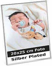 Bilderrahmen Trier 20x25 cm Foto Silber Plated