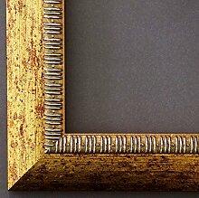 Bilderrahmen Turin Gold 4,0 - mit Passepartout in