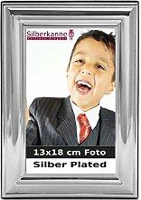 Bilderrahmen Venezia 13x18 cm Foto aus Silber
