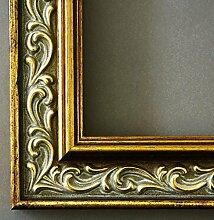 Bilderrahmen Verona Gold 4,4 - mit Passepartout in