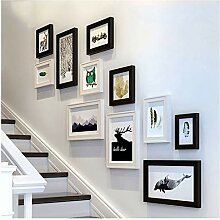 Bilderrahmen-Wand-Set Set mit 11 hängenden