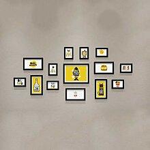 Bilderrahmen-Wanddekoration, an der Wand