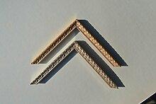 Bilderrahmen Weimar - Alt-Gold 32x60 cm 60x32 cm
