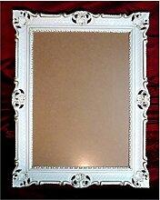 Bilderrahmen Weiß-Gold Dualcolor 90x70 cm mit