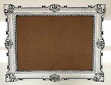 Bilderrahmen Weiß-Schwarz Dualcolor 90x70 cm mit