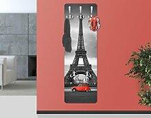 BIlderwelten 67533 Wandgarderobe Spot on Paris  