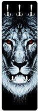 Bilderwelten Garderobe Flurgarderobe Dark Lion