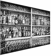 Bilderwelten Glasbild Wandbild Glas Kunstdruck Bar