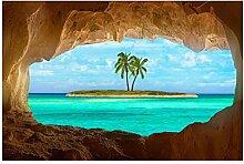 Bilderwelten Magnettafel - Blick ins Paradies -