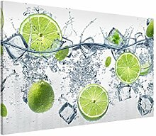 Bilderwelten Magnettafel - Erfrischende Limette -