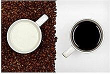Bilderwelten Magnettafel - Milchkaffee - Memoboard