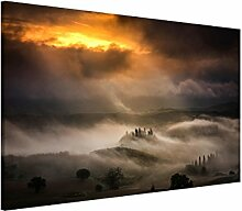 Bilderwelten Magnettafel - Nebelwellen - Memoboard