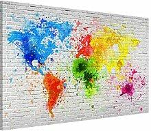 Bilderwelten Magnettafel - Weiße Backsteinwand