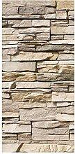 Bilderwelten Raumteiler Asian Stonewall Steinmauer