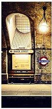 Bilderwelten Raumteiler Baker Street 250x120cm