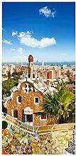 Bilderwelten Raumteiler Barcelona 250x120cm ohne