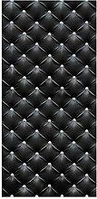 Bilderwelten Raumteiler - Diamant Schwarz Luxus