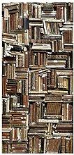 Bilderwelten Raumteiler Shabby Bücherwand