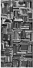 Bilderwelten Raumteiler Shabby Bücherwand schwarz