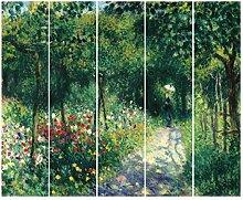Bilderwelten Schiebegardinen Auguste Renoir -
