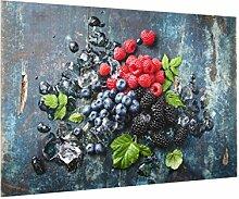 Bilderwelten Spritzschutz Glas - Beerenmischung