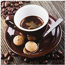 Bilderwelten Spritzschutz Glas Kaffeetasse mit