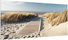 Bilderwelten Spritzschutz Glas - Ostsee Strand 59