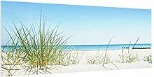 Bilderwelten Spritzschutz Glas - Ostseeküste -