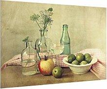 Bilderwelten Spritzschutz Glas - Stillleben mit