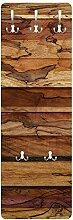 Bilderwelten Wandgarderobe + Haken Wandmontage