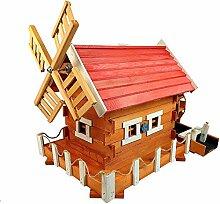 Bildschön Wassermühle aus Holz (MWKS3 B BI CZ)