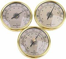 BIlinli 3 IN 1 Luftdruckprüfer Thermometer