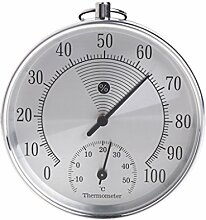 BIlinli Analoges Thermometer für den Innenbereich