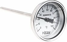 BIlinli Edelstahl Bimetall-Thermometer 1 / 4PT