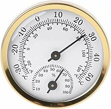 BIlinli Indoor Analog Thermometer Hygrometer