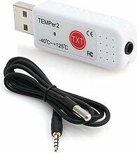BIlinli PC TEMPER2 Sensor USB Thermometer
