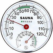 BIlinli Thermometer-Hygrometer aus Edelstahl für