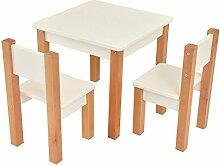 Bilira_Kids Kindertisch Spieltisch Tisch Zwei