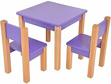 Bilira_Kids Kindertisch Tisch Stuhl Kinderstuhl