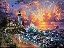 BILIVAN 5D Diamant Malerei Bilder Set Leuchtturm