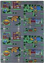BilligerLuxus Teppich Kinder Straßenteppich