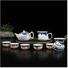 Bin Zhang Exquisite Geschenk Exquisite Blau und