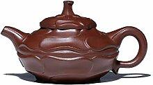 Bin Zhang Große rote Teekanne mit