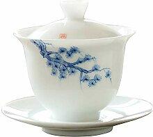 Bin Zhang Jade Schlamm bemalt weiß Porzellan