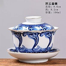 Bin Zhang Keramik blau und weiß Porzellan
