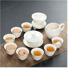 Bin Zhang Porzellan Teeservice Kung Fu Tea Gaiwan