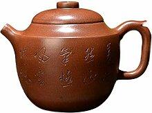 Bin Zhang Teekanne Rhyme rund (Farbe: Braun)