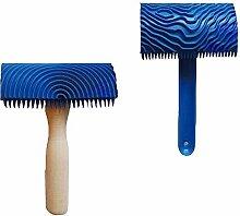 Binchil 2X Holzmaserung Muster Malwerkzeug